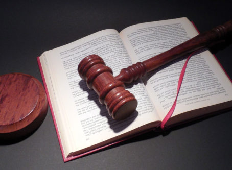 gavel and lawbook