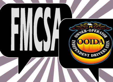 Graphic with OOIDA logo safety regulations