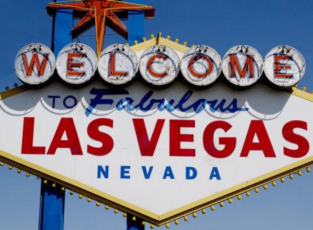 to Las Vegas sign