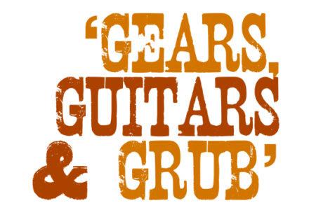 Gears Guitars and Grub logo Mack Trucks