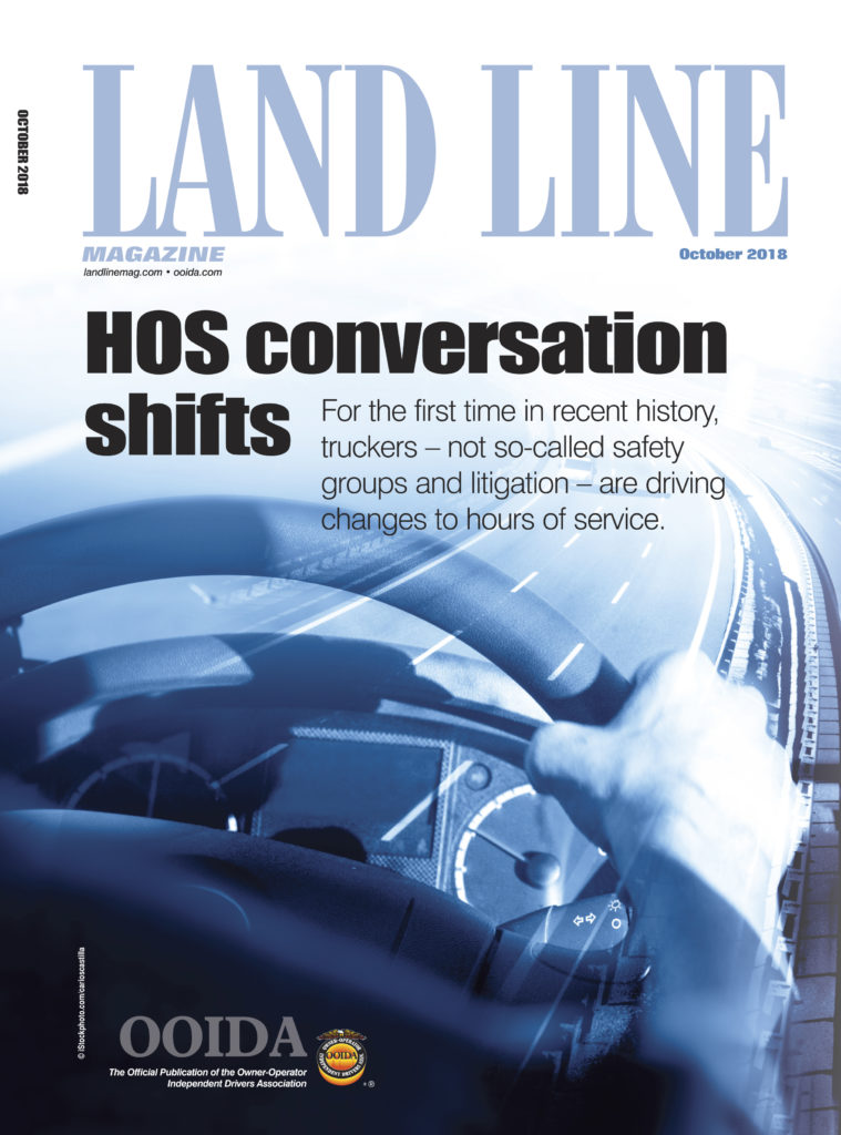 October 2018 Land Line cover