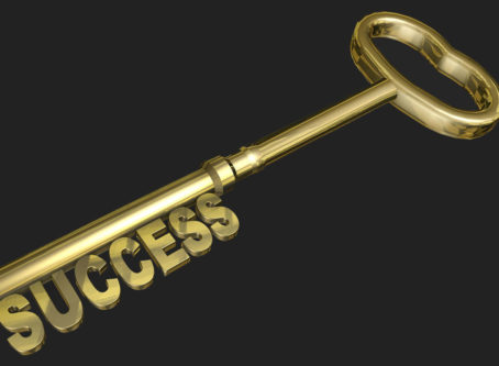 Key to success graphic