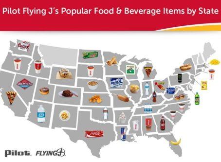 PFJ map road food