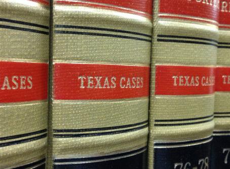 Texas law books