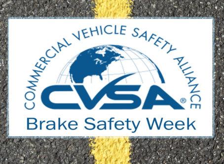 CVSA Brake Safety Week logo