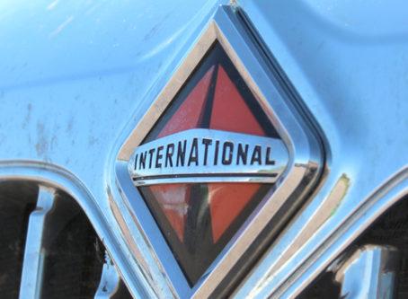 International truck grille