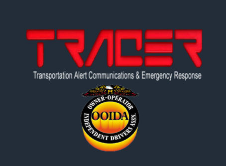 TRACER Alert for reporting and recovering stolen trucks