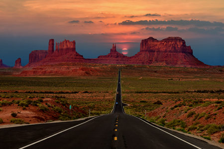 Highway Funding Monument Valley