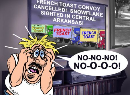 Mo Paul French Toast Convoy toon