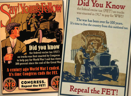 Repeal FET graphics form NADA