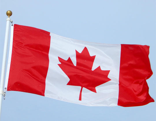 Canadian flag ELD mandate