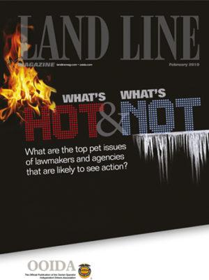 February 2019 Land Line Magazine cover