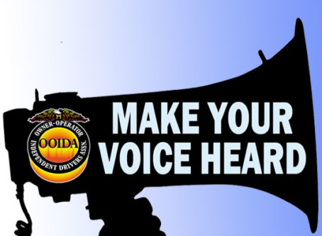 Bullhorn with MAKE YOUR VOICE HEARD