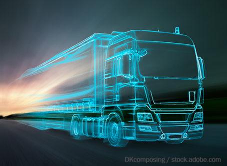 Autonomous truck see-through