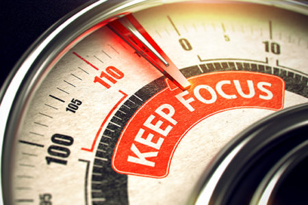 Fighting For Truckers - Keep Focus gauge