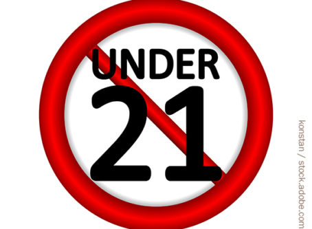 No Under 21 Drivers