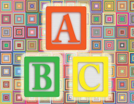 ABC blocks ABC Test PRO Act