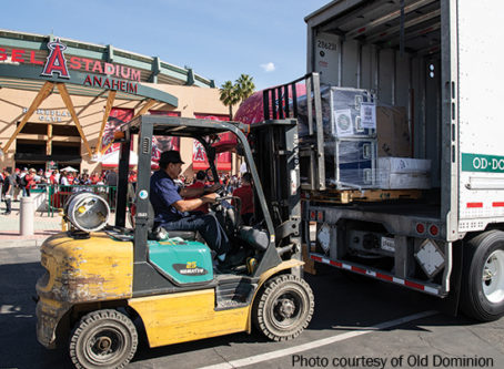 Moving Day for Spring Training by truck