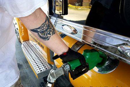 Pumping fuel tax
