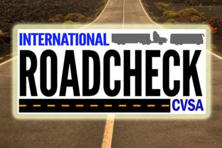 CVSA International Roadcheck logo
