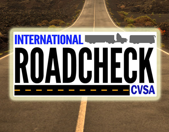 CVSA International Roadcheck logo