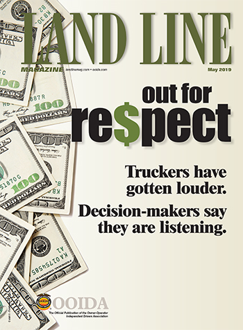 Land Line May 2019 cover