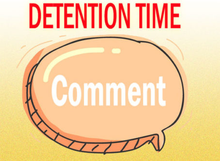 Comment Detention Time graphic