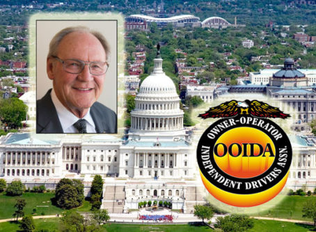 Todd Spencer, OOIDA logo, U.S. Capitol