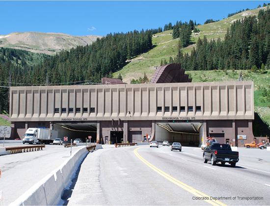 Eisenhower Tunnel hazmat