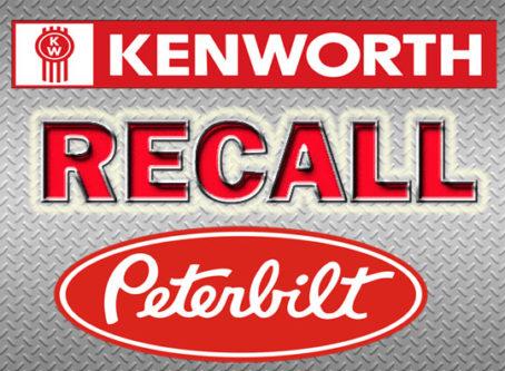 Paccar Kenworth Peterbilt recall text