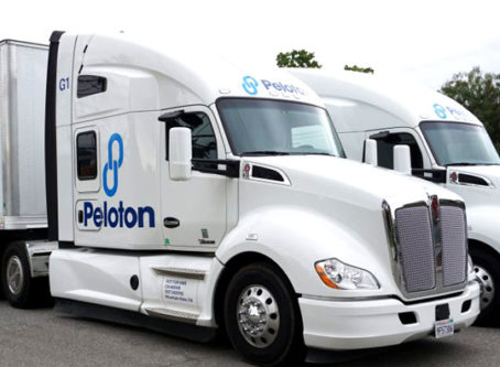 Peloton Technologies trucks