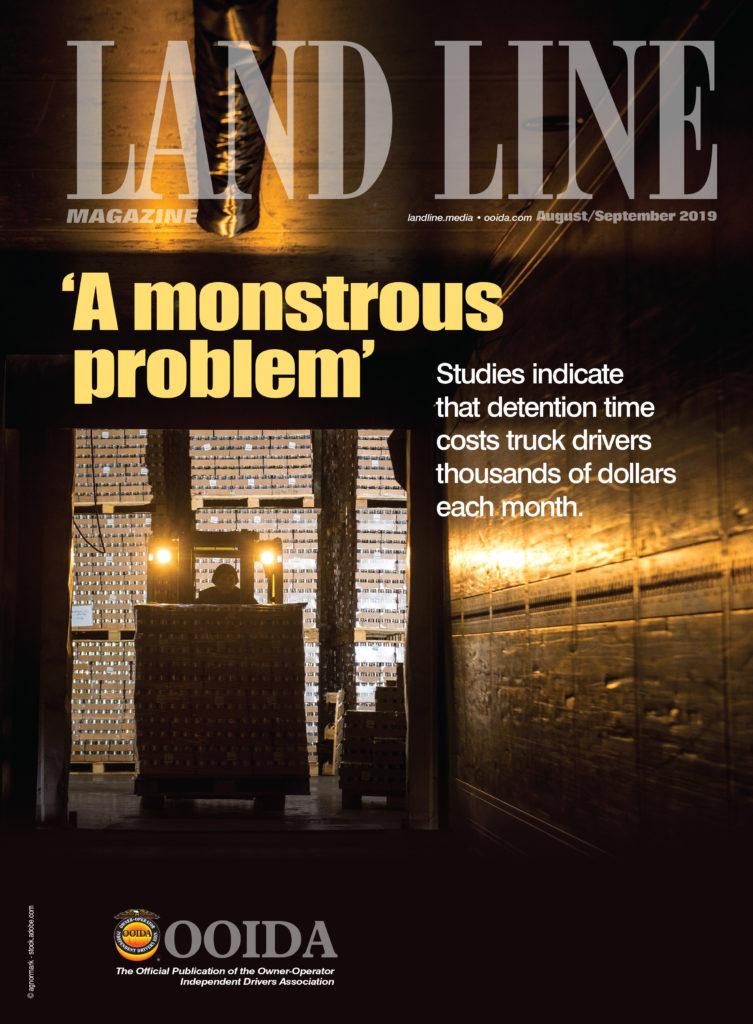 August Septemeber Land Line Magazine cover