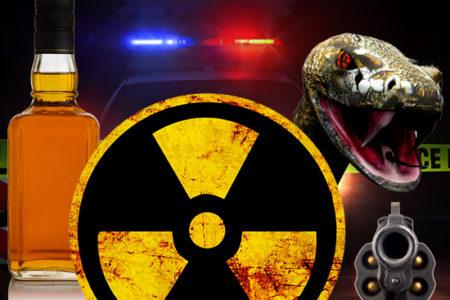 Radioactive Rattlesnake Whisky
