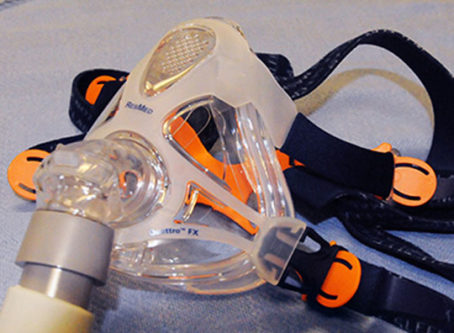 CPAP mask for sleep apnea