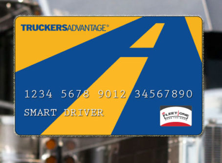 Truckers Advantage card