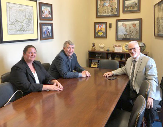 OOIDA leaders meet in Sen. Rob Portman's office