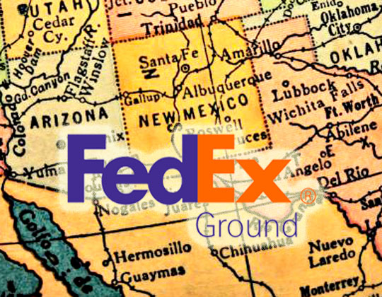 New Mexico court rejects FedEx Ground drivers' wage suit