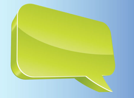Comment speech balloon