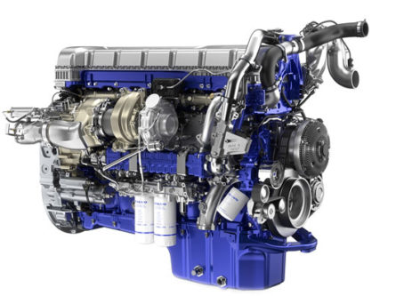 Volvo's new D13TC engine