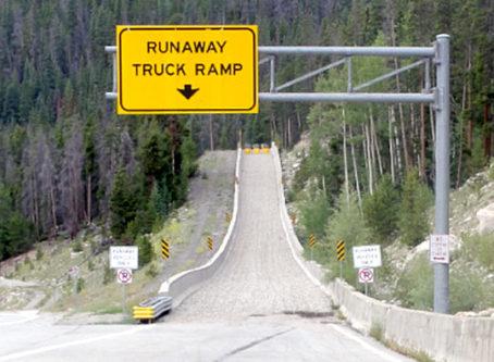 Colorado runaway truck ramp