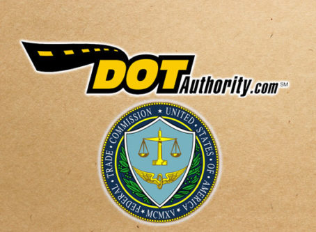 DOTAuthority.com logo, FTC seal