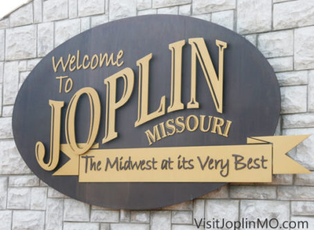 Welcome to Joplin sign Photo credit: VisitJoplinMO.com