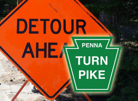 Sections of Pennsylvania Turnpike to be closed
