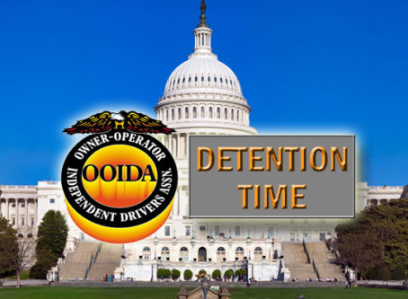 U.S. Capitol, OOIDA logo, Dention Time