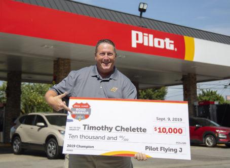 Timothy Chelette, Road Warrier 2019 grand prize winner