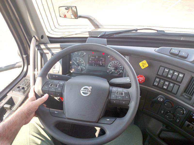 Volvo steering wheel