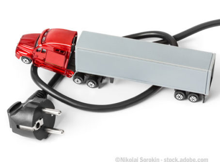 toy semitruck, electric cord