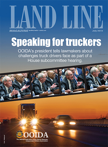 July 2019 Land Line Magazine cover