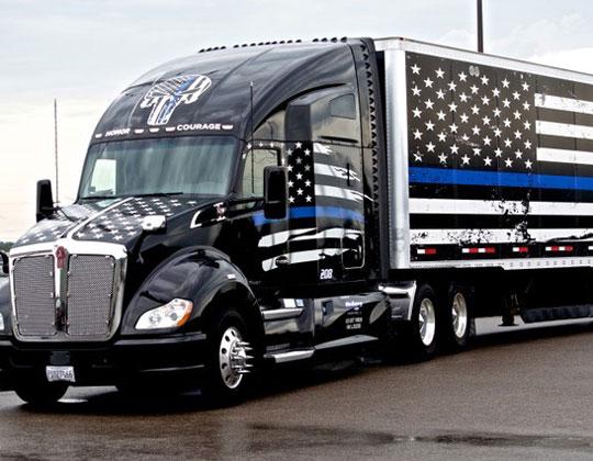 tribute truck
