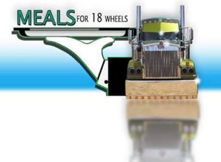 Meals for 18 Wheels logo